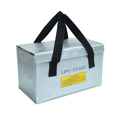 ENGPOW Lipo Bag Tasche Feuerfeste Safe Bag Tasche Kompatibel mit Drohnenbatterie Arteck Auto-Starthilfe Autobatterie, elektrisches Produkt,wasserdichtes Ladegerät Power Bank Wache
