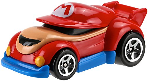 Voiture Hot Wheels Super Mario - Mario - Mattel