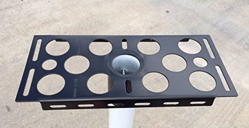 SHUR-TITE   14GA Steel   Mailbox Bracket   for 2-3/8' Round Post