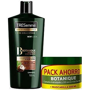 TRESemmé Pack con Champú Aceite de Coco y Mascarilla Botanique ...