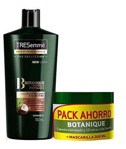 TRESemmé Pack con Champú Aceite de Coco y Mascarilla Botanique