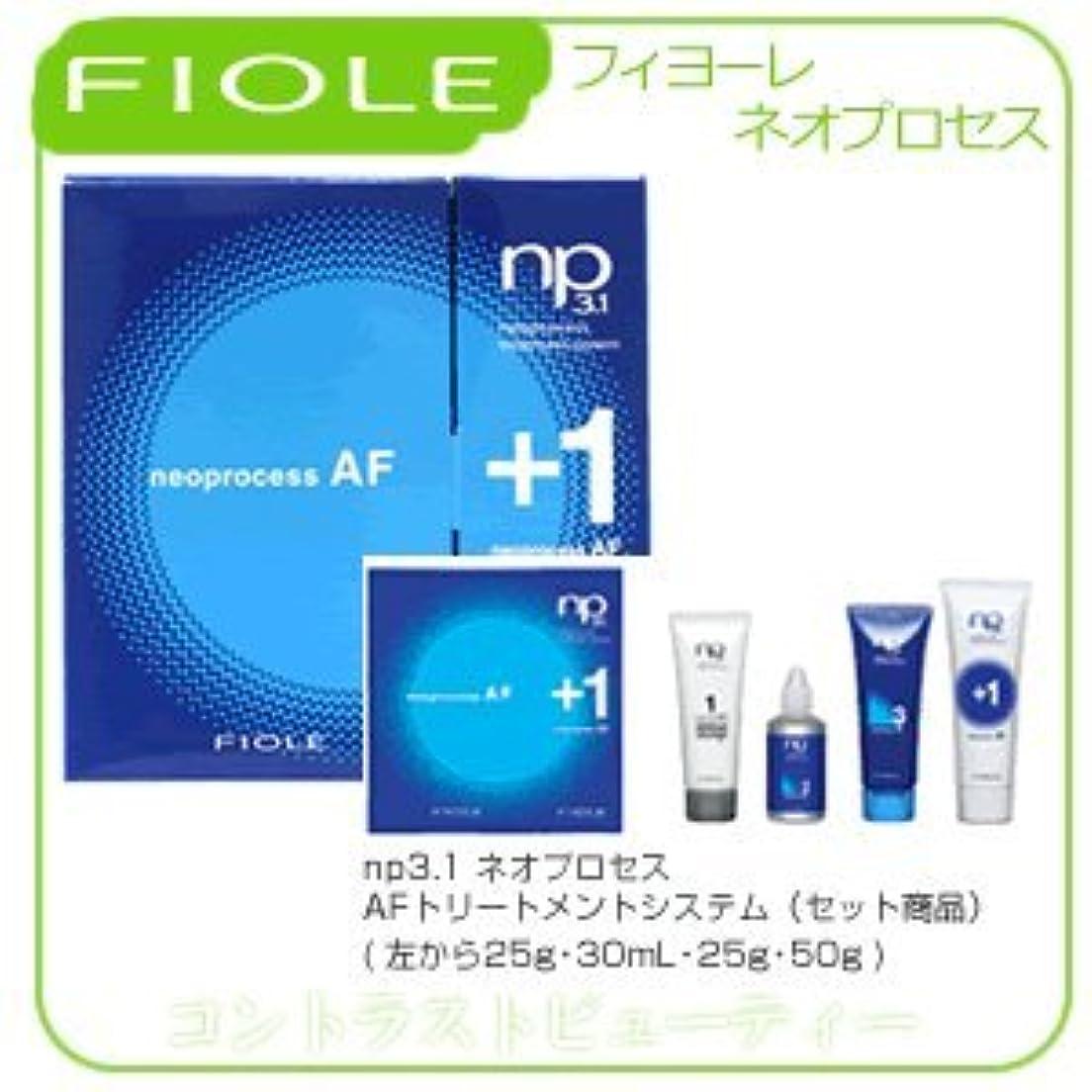 許容質量広がり【X3個セット】 フィヨーレ NP3.1 ネオプロセス AF トリートメントシステム FIOLE ネオプロセス