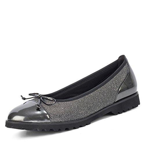 Gabor Shoes AG 93.100.69 Größe 38 EU Argento/Shadow