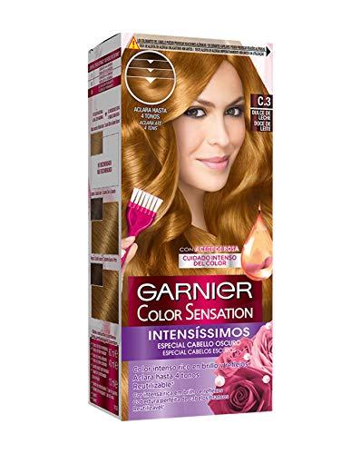 Garnier Color Sensation coloración permanente e intensa reutilizable con bol y pincel - Tono: C3 Dulce de Leche