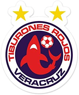 Tiburones Rojos Veracruz - Mexico Football Soccer Futbol - Car Sticker - 5
