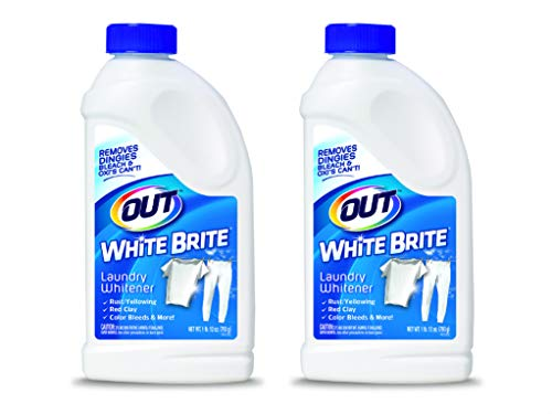 OUT White Brite Laundry Whitener Powder, 1 lb 12 oz, 2 Bottles