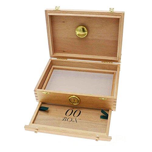 Caja de madera polinizadora para curado 00Box - Mediana (00