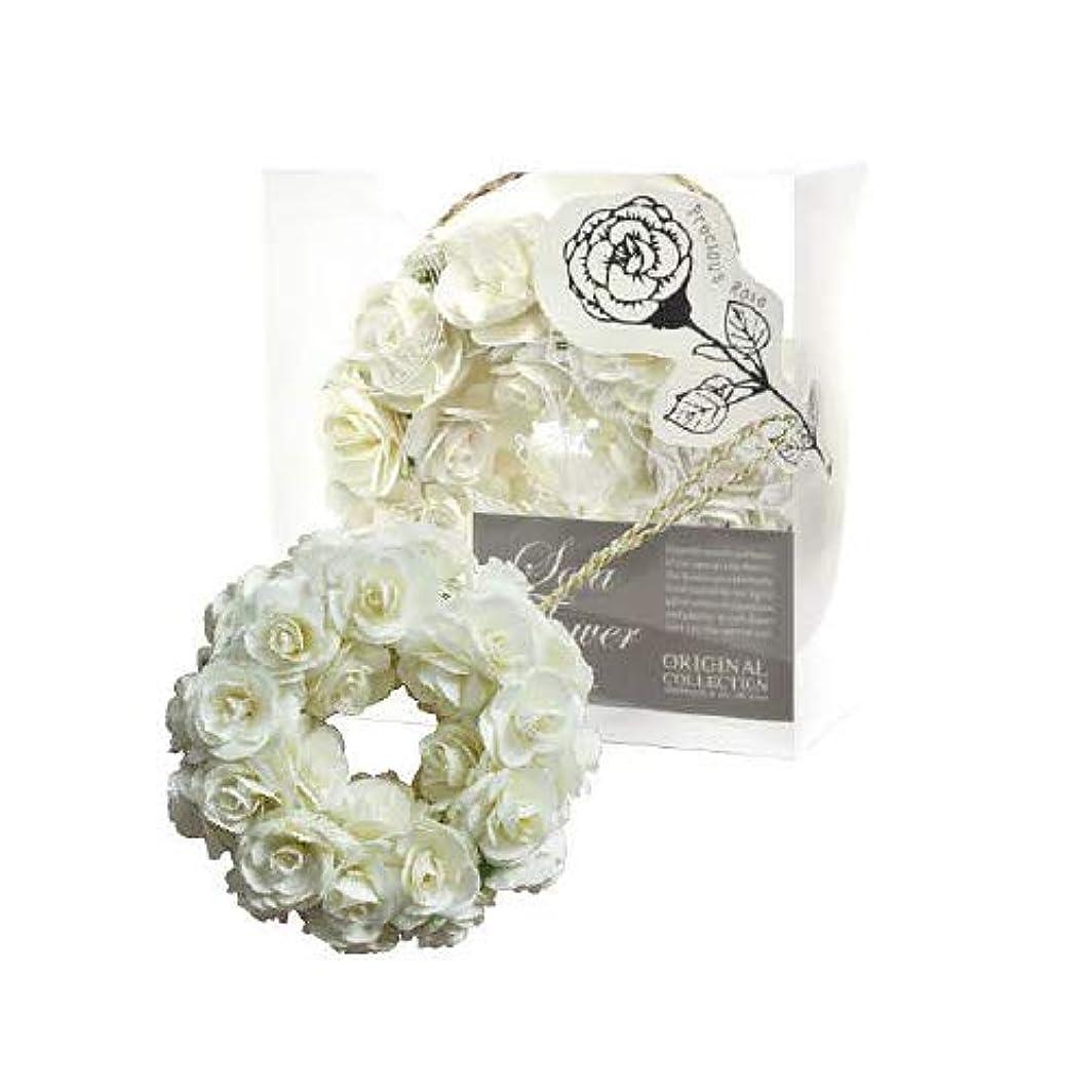 人工何農民new Sola Flower ソラフラワー Wreath リース Precious Rose プレシャスローズ