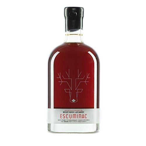 Award Winning Escuminac Unblended Maple Syrup Canadian Grade A - Dark...
