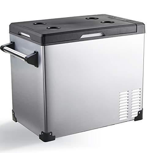 Portable Refrigerator Fridge Freezer for car, Boat, RV, Camping, Roadtrip, Outdoor Recreation (48-Quart)