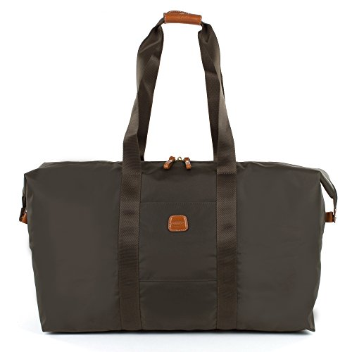 Bric's 22 Inch Folding Duffel, Olive, One Size