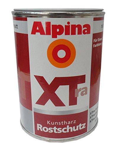 Alpina XTra Kunstharz Rostschutz grau matt 2 Liter