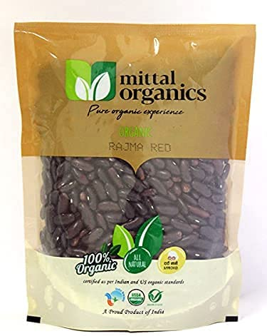 Gannon Mittal Organics- Organic Rajma Red Challenge the lowest price Max 89% OFF 2 Pack of gm- 500 –
