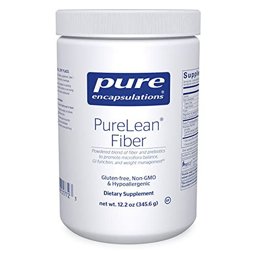 Pure Encapsulations - PureLean Fiber - Powdered Blend of Soluble and Insoluble Fibers to Promote Weight Management** - 12.2 Ounces*