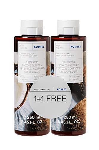 Korres Coconut Water 1+1 Duschgel Set