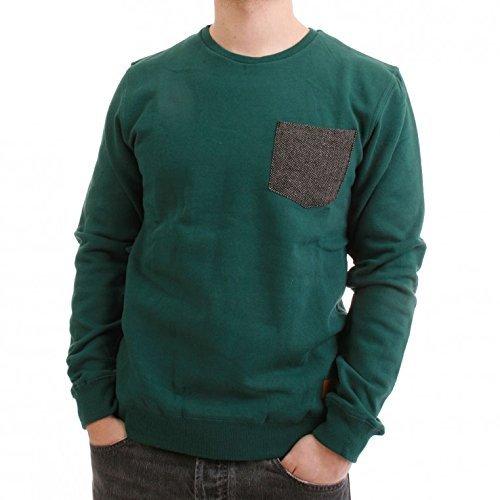 Minima ENISO Pull pour homme Vert sarcelle - Vert - XL