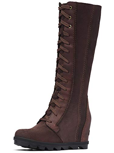 Sorel - Women's Joan of Arctic Wedge II Tall Boot, Cattail, 10.5 M US