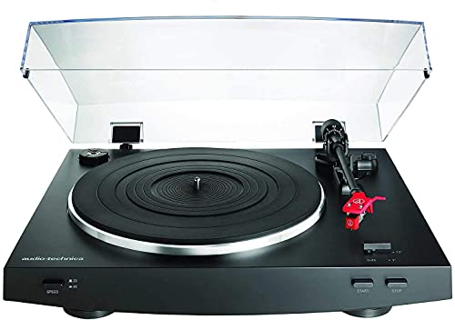 Audio-Technica AT-LP3BK Turntable Automatic Belt-Drive Bl