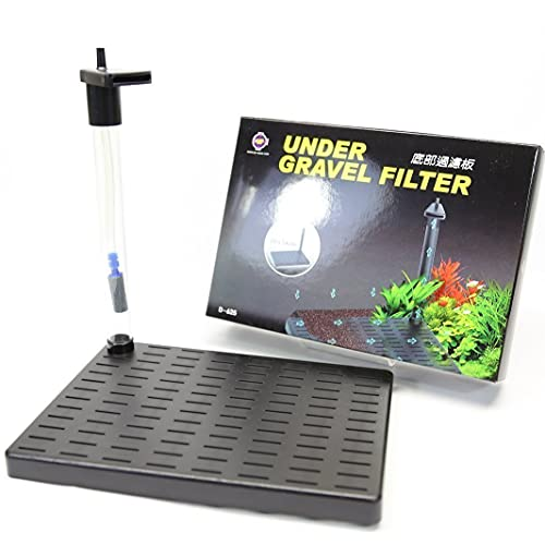 """Aquarium Equip Under Gravel Filter 7.8""""x5.5"""" undergravel filteration"""