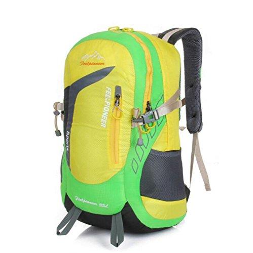 SZH&BEIB Sports de plein air multifonctions sac à dos randonnée sac étanche escalade Camping 35L , A