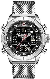 Naviforce Sports Men Quartz Watches silver