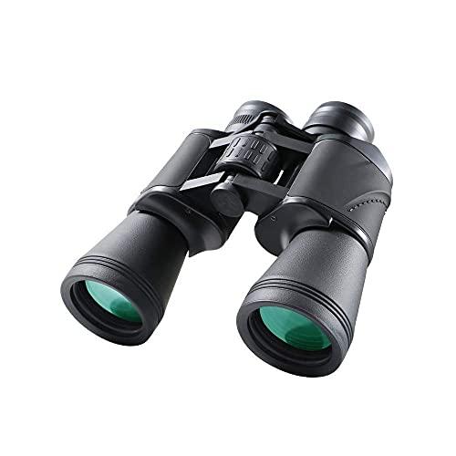 12x50 Adultos Life Waterproof BAK4 Prism FMC Lente Binoculares Compactos con Binocular Alta Potencia con Adaptador para Smartphone para Observación Aves
