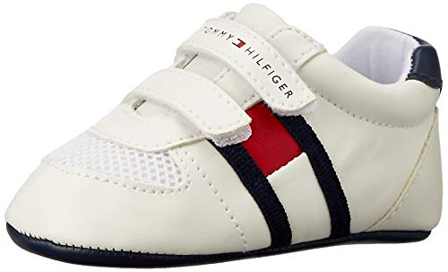 Tommy Hilfiger Velcro Kinder Sneaker Weiß