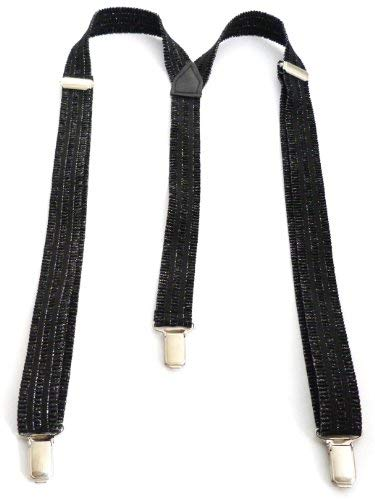 Evil Wear Flexible Pantalon ntäger Longueur réglable 2,5 cm Largeur Noir O84