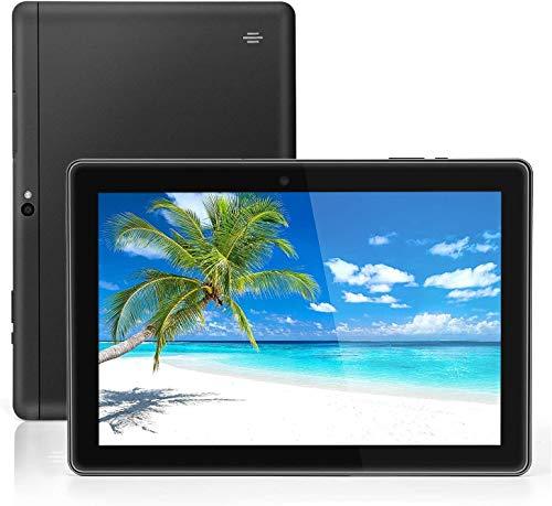Tablet Android Google da 10 pollici, Android 9.0 Pie, certificato GMS, 4 GB di RAM, 64 GB di spazio di archiviazione, processore quad-core, display IPS HD, Wi-Fi, Bluetooth, GPS