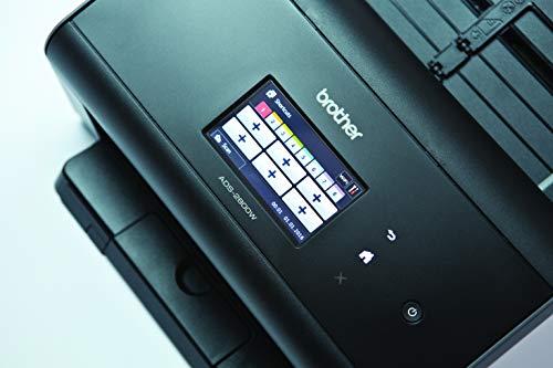 Brother ADS-2800W (Dokumentenscanner mit LAN und WLAN) schwarz