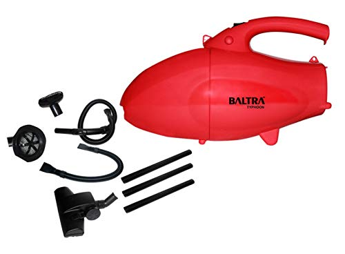 Baltra Typhoon BVC-201 1000-Watt Vacuum Cleaner (Red/Black)