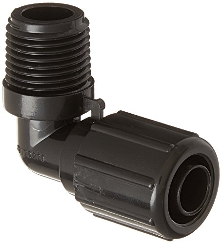 Price comparison product image Pentair R172272 1 / 2-Inch NPT 90-Degree Tube Fitting with Nut Replacement Rainbow Automatic Chlorine / Bromine Pool and Spa Feeder