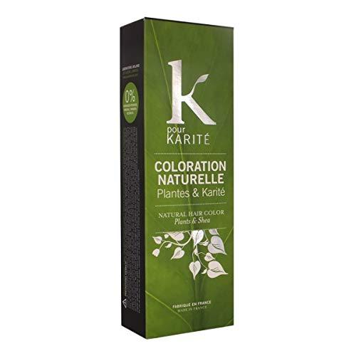 Coloration naturelle plantes & karité Chatain clair n°5 - tube 100 g - K POUR KARITE