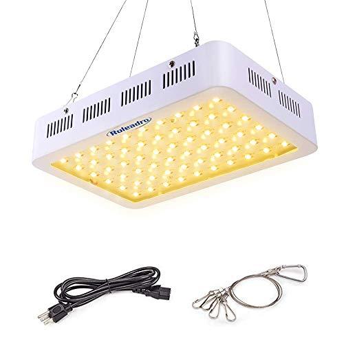 Roleadro 600W LED Grow Light 3rd Generation Series Full Spectrum Plant...