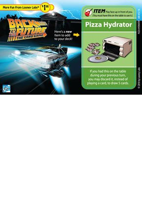 Looney Labs Back to The Future: The Card Game - Pizza Hydrator Promo Card