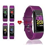 WADEO Montre Connectée Cardiofréquencemètre Bracelet Connecté Homme Femme, Fitness Tracker d'Activité Étanche Montre Sport Podomètre Calorie Smart Watch