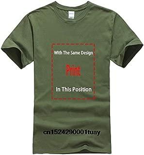 Bonsai Tree Japanese Calligraphy Rising Sun Zen T-Shirt Classic Cotton Men Round Collar Short Sleeve Top Tee T Shirt:Men-ArmyGreen, XXL