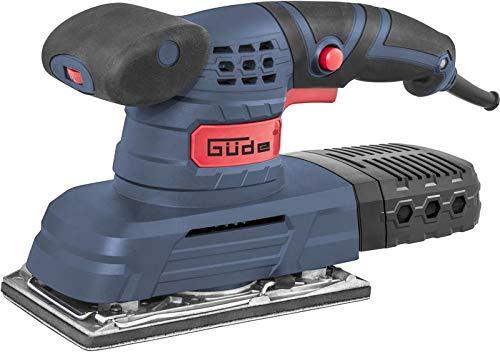 Güde 58128 FS 90 E Flächenschleifer (230V, 1200-24000 Schwingzahl, 90x187mm Kletthaftung, Staubfangkasette)