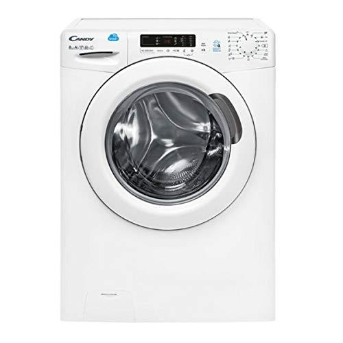 Candy CS44 1382D3/2-S Autonome Charge avant 8kg 1300tr/min A+++ Blanc machine à laver - Machines à laver (Autonome, Charge avant, Blanc, Rotatif, Gauc