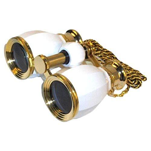 ZTYD 4X verrekijker voor dame, lichtgewicht FMC alle optische lens draagbare geheel metalen fijne verrekijkers-drama spiegel/golf spiegel/klassieke dames cadeau telescoop