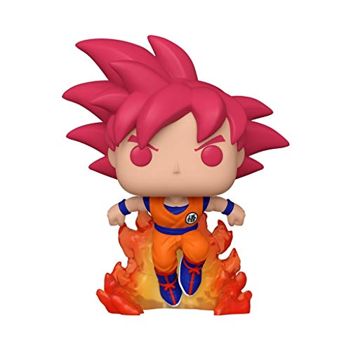Funko Pop! 47865 Dragon Ball Super #827 Super Saiyan God Goku (2020 Summer Convention...