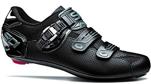 Genius 7 Air Shadow Carbon Road Cycling Shoes (48.0, Shadow Black)