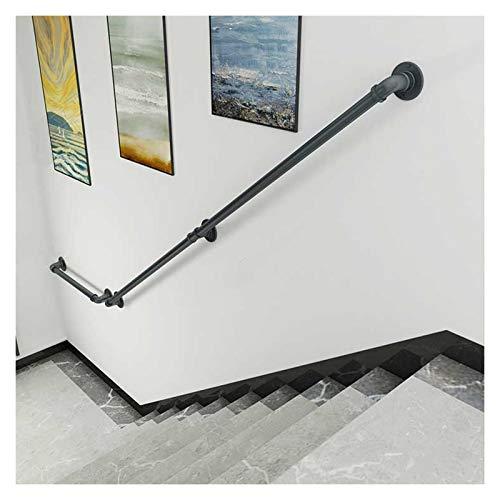 Stair Barand Barister Handrail con Accesorios, Corte de Aseo para Piezas Pasos Kit de Soporte de barandilla para escaleras,Kindergarten Corredor de barandilla Escalera Rieles de Manos (Size : 250cm)