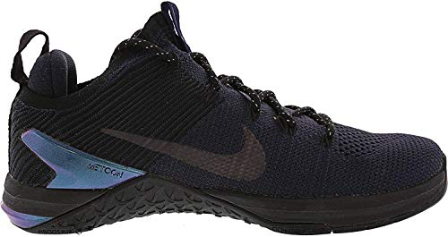 Nike Metcon DSX Flyknit 2 AMP Hombre Running Trainers AV3839 Sneakers Zapatos (UK 7.5 US 8.5 EU 42, College Navy Black 400)