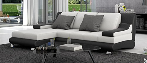 Sofa Dreams Sevine Leren slaapbank met recamière