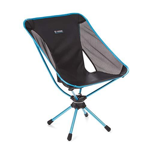 Helinox Swivel Chair   Der technisch möglicherweise fortschrittlichste Stuhl bietet zusätzlich zum leichten, einfach verstaubaren Komfort eine Umdrehung von 360° (Black)