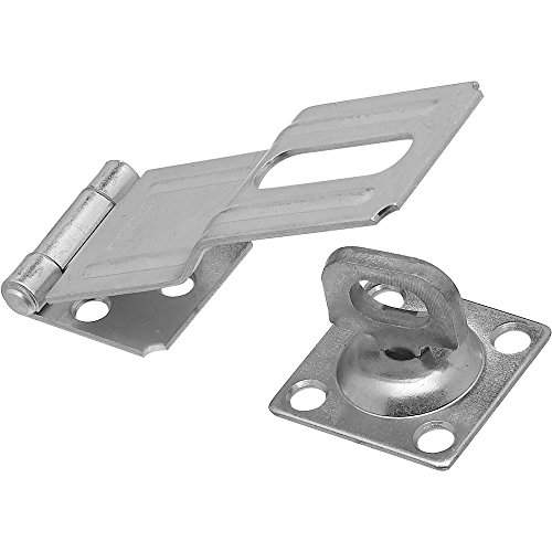 National Hardware N102-921 V32 Swivel Staple Safety Hasp in Zinc plated,4 Inch - 1/2 Inch