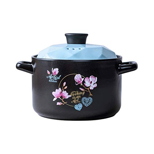 Z-Color Cazuela de Sopa para el hogar, Olla de cocción de cerámica,...
