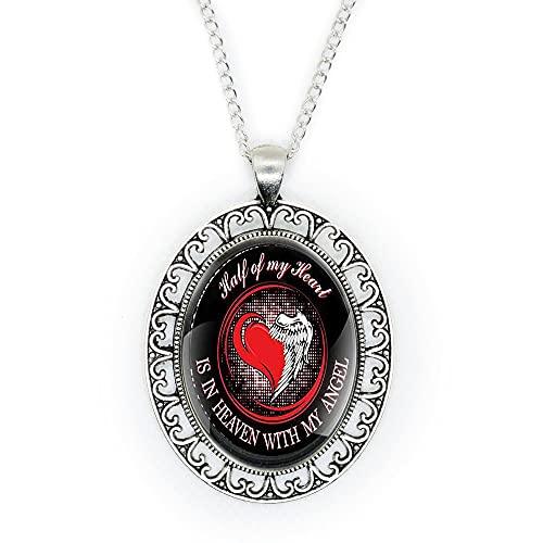 Collar de corazón, collar delicado, regalo de dama de honor, regalo para ella, collar simple, regalo para mujeres, collar delicado, joyería, N035