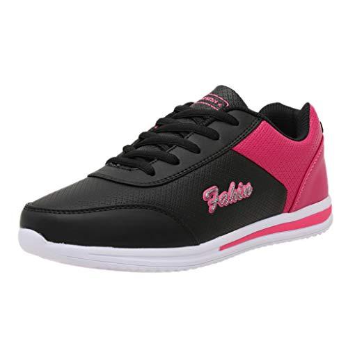 FAMILIZO Zapatillas Mujer Running Zapatillas Deportivas De Mujer Sneakers Women Primavera Damas De Mujer De Moda Plana Mixta Colores Running Zapatos Deportivos Zapatillas Deportivas